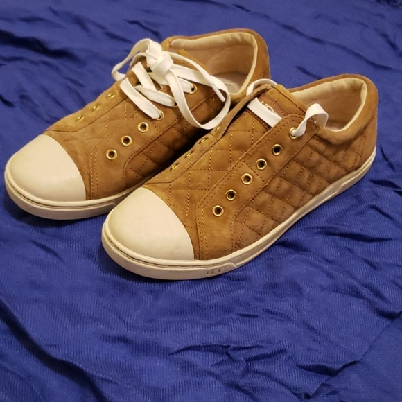 UGG Shoes - UGG Quilted Suede Sneakers